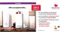 Jusqu'à 200 € remboursés chaudière saunier duval installée par Domarco L'Union, Castelmaurou, Saint-Jean, Rouffiac, Toulouse