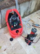 Mise en place pompe à désembouer